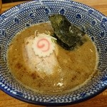 つけ麺 冨 - つけ汁 (味玉つけ麺)