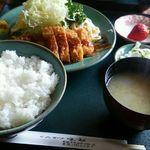 味松 - ランチのとんかつ定食