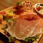 Pizzeria347 - 前菜の盛り合わせ(6種)