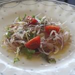 リストランテAO 逗子マリーナ - 新鮮野菜のシーザーサラダ