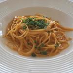 リストランテAO 逗子マリーナ - 新鮮なウニのクリームスパゲッティーニ