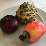 PÉRGULA RESTAURANT - 各種トロピカルフルーツ