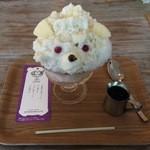 サンデコ珈琲 - SANDED COFFEE 的白熊 450円