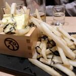 仙臺驛日本酒バル ぷらっと - 塩昆布ポテトフライ