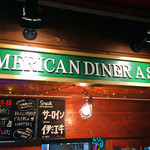 American Diner A Sign - 看板