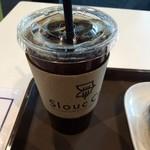 スルークカフェ - アイスコーヒー。 税込370円。 苦し。