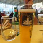 Ristorante Al Giglio - ドリンク写真:地ビール「Fabbrica di Pedavena」