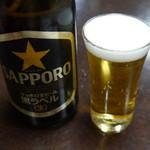 花本 - ◆ビール (700円)
