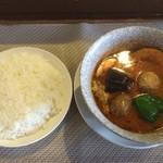 ジョニーtown - 肉団子+カントリースープ+3辛