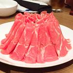 小肥羊 - ラム肉並/650円