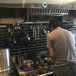 Homemade Ramen 麦苗 - ご主人が手鍋で仕上げてます