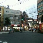 51293572 - 店がある旧中仙道の中宿商店街