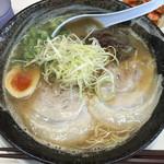 51294465 - Wスープ豚骨 麺大盛り d(^_^o)