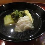 酒斎 伊とう - 椀物:鮎魚女のお椀2