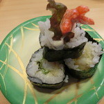 おしどり寿司 - 海老天巻き270円