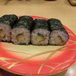 おしどり寿司 - 穴子胡瓜巻き216円