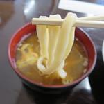 51296217 - 固いゴキゴキの麺です。つけ汁はおいしくなりました。