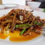 51298546 - 牛肉と筍の炒め物(1800円)
