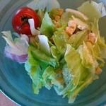 清流 - 料理写真:サラダはフレッシュ