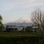 513302 - 夕暮れの富士山