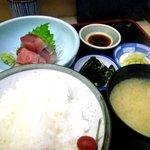 魚竹 - 鮪ぶつランチ