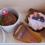 patisserie mon - 再訪で買ったケーキ
