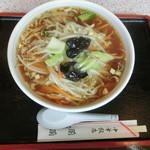 中華飯店 蘭蘭 - サンマーメン(800円)