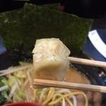 松壱家 - 醤油豚骨きゃべもや