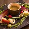 トラットリア ナカタ - 料理写真:有機野菜の「バーニャカウダ」