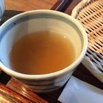 丹生庵 - さらっとした蕎麦湯