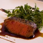 トラットリア ナカタ - 黒毛和牛「しんしん」のステーキ
