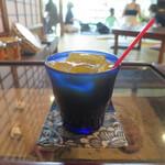手ぬぐいカフェ 一花屋 - 自然のかんきつミックスジュース
