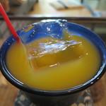 手ぬぐいカフェ 一花屋 - 自然のかんきつミックスジュースアップ