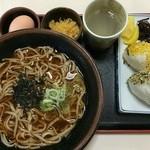 ひの木家 - 料理写真:そば定食 ¥870