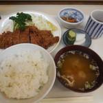 わらじ亭 - チキンカツセット
