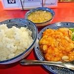 四川 - 海老のチリソース