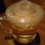 鉄鍋家 - 中国茶の菊花茶。