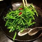 51311075 - 空芯菜の炒め物