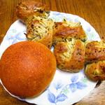 ぱん もみの木 - 料理写真:ごぼうエピ、チーズ