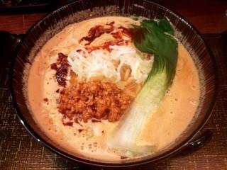 麺匠 竹虎 六本木店 - 「胡麻味噌坦々ラーメン」