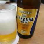 好ちゃん - 瓶ビールでスタート→その後ベロベロ