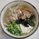松本 - 肉うどん