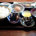 こめっこ - 焼き鯖朝定食