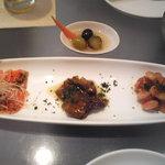 ロトカフェ - @1350円ランチの前菜
