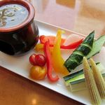 tcc Steak & Seafood - バーニャカウダ 950円