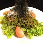 俺の和食英二 - 茶そばサラダ ¥780