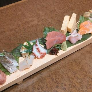 魚がし日本一は築地大田市場でのセリ権をもつ数少ない寿司屋です