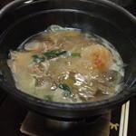 東海林 - きりたんぽ鍋、一人鍋