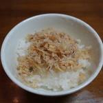 野村佃煮 - 2016.05 シンプルにごはんにのせて頂きました。