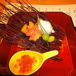 日本料理 花城 - 開業記念特別会席¥5,000円で今年で開業20周年とのことです。